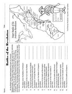 Independence Day Worksheet: reading for information