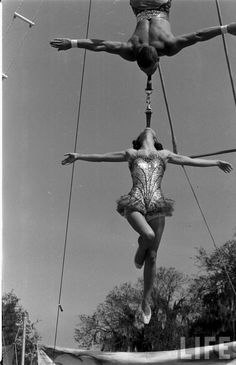 Circus Girls of Florida State University, 1952