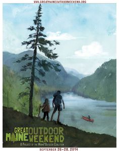 Don't miss the Great Maine Outdoor Weekend Sept... | WITH A BEAN SLANT