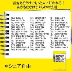 Positive Word sheet from fb Japanese Quotes, Note Memo, Famous Words, Psychology Facts, Favorite Words, Study Notes, Life Motivation, Wise Quotes, Text Messages