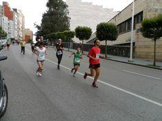 En la carrera popular 5km diario montañés sep-2012