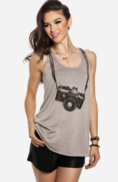 Photographer Tank......for all the photography lovers out there :-)!