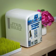 R2-D2 & BB-8 Mini Fridge Join Forces For The Good Of Your Snacks   Unique Hunters