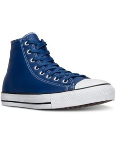 b5ecd7dbe862 CONVERSE Converse MenS Chuck Taylor All Star Hi Seasonal Leather Casual…  Mens High Top Shoes