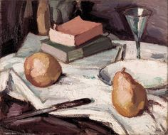 File:Samuel John Peploe - Still life with pears and wineglass - Google Art Project.jpgt Samuel John PEPLOE (1871 - 1935) (Britain) (Details of artist on Google Art Project) Title Still life with pears and wineglass Object type Painting Date circa 1915 Medium oil on canvas Dimensions Height: 40.6 mm (1.6 in). Width: 50.8 mm (2 in). Current location Art Gallery of South Australia Link back to Institution infobox template wikidata:Q705557 Accession number 0.1639