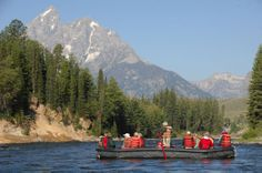 Snake River Scenic Float Trips - Grand Teton National Park