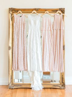 Blush Pink Sequin Bridesmaids Dresses | Flora Bloom Photography Pink Sequin, Blush Pink, Sequin Bridesmaid Dresses, Bridesmaids, Pink Palette, 25th Wedding Anniversary, Engagement Couple, On Your Wedding Day, Luxury Wedding