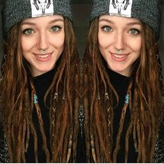 @encoreever has #mightylocs ✌✌ #instadread#instadaily#instagood#instalocs#dread#dreads#dreadhead#girlswithdreads#girlswithtattoos#dreadlocks#woman#locnation#dreadlife#onelife#onelove#septum#beautiful#hairstyle#picoftheday#hair#dreadstagram#hippie#dreadstyles#positivevibes