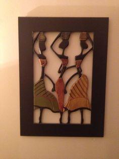 Love my African wall art. Handmade in Africa.