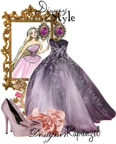 """Disney Style : Rapunzel"" by missm26 on Polyvore"