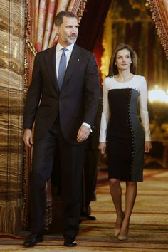 King Felipe and Queen Letizia Hosted a Lunch for Literature World Members