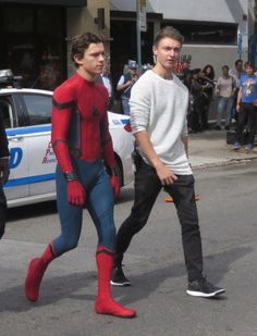 The actual Peter Parker and Harry Osborn