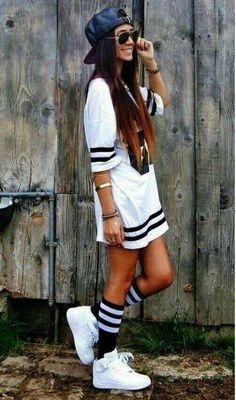Black and white hip-hop style addict #hiphopoutfits