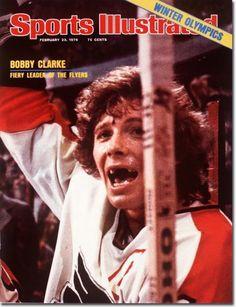 Bobby Clarke #16 Philadelphia Flyers approx 1975