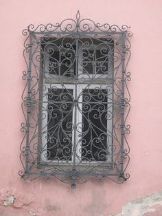 Window in Barrio Yungay - Santiago, Santiago Metropolitan Region, Chile.