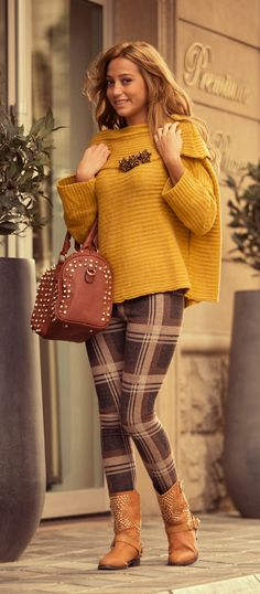 #romanticazerbaijan #baku #azerbaijan #gence #georgia #yellow #jumper #legins #new #collection #2013 #2014 #fashion #beauty #girls #shoes #smile #love #longhair