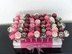 Cake pops ... sugar high with gamma phi.