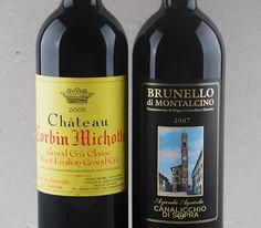 Seleção Jorge Lucki - Top: Brunello Canalicchio di Sopra 2007, Château Corbin Michotte 2005