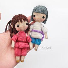 #crochet #amigurumi #dollmaker #宮崎駿 #吉卜力 #doll #handmade #神隱少女 #千與千尋
