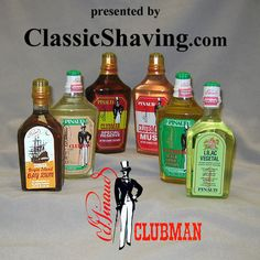 Throw out your crappy Axe body spray and get yourself some Clubman. Feels wonderful after a shave and has a great, classic, barbershop scent.