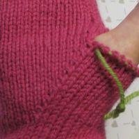 Lapaset yksipuoleisella peukalokiilalla | Punomo Fingerless Gloves, Arm Warmers, Mittens, Fashion, Tricot, Breien, Fingerless Mitts, Fingerless Mitts, Moda