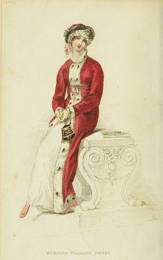 Morning Walking Dress - Ackermann's Repository 1813   (via www.ekduncan.com)