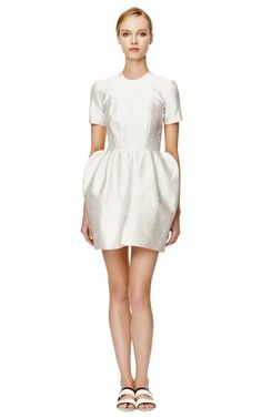 Shop Swish Shell Top Dress With Exaggerated Skirt by Ellery Now Available on Moda Operandi