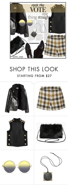 """Rock the Vote"" by goreti ❤ liked on Polyvore featuring H&M, Alice + Olivia, Mulberry, Torrid, 3.1 Phillip Lim, Matthew Williamson, Reed Krakoff and rockthevote"