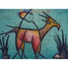 Se me fue el baifo La Tienda de ArteCanario.es  Artista: Jose Rafael López Baz  #artecanario #comprar #arte #canarias