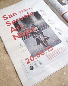 San Servolo Art Night, adv — hstudio