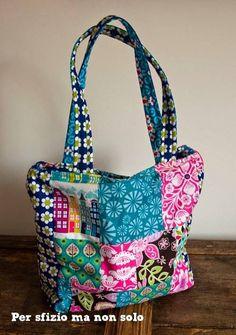Summer Patchwork Bag on persfiziomanonsolo.blogspot.it