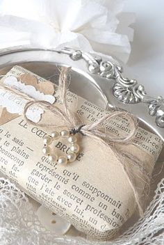 Great way to use up old jewelry or stray beads in your supplies.