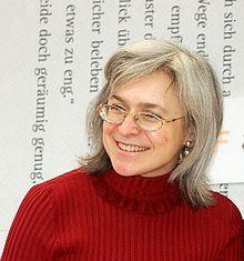 October 2006 - Anna Politkovskaya a Russian journalist, writer, and human rights activist is assassinated. Anna Politkovskaya, Boris Nemtsov, Ukraine, Human Rights Activists, Female Hero, Vladimir Putin, Great Women, Journal, Bbc News
