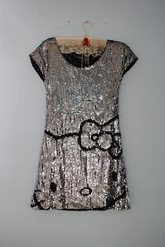 Hello Kitty sequined dress