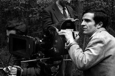 """""""I see only one common point shared by young directors: we all play pinball while older directors drink scotch and play cards."""" - François Truffaut"""