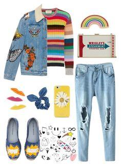 """happy little pill"" by mymistyeye on Polyvore featuring мода, Gucci, Anya Hindmarch, Sonia Rykiel, Georgia Perry, Kate Spade, Dorothy Perkins и Chiara Ferragni"