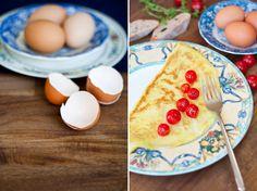 Frühstück: Französische Omelette.. Mit Tomaten, versteht sich. | Nur 5 Zutaten Blog