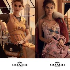 "Selena Gomez Goes Out on a Ledge in her Latest Coach Campaign  Selena Gomezs latest campaign for Coach has landed and this time the star getsextraNew York posing on a fire escape in a prewar loft with the Empire State Building in the background.  Photographed by Steven Meisel and styled by Karl Templer Gomez models the Parker a new bag style from Coach that launches in February while wearing a yellow beaded dress. ""The first time I walked on set I was a little nervous; I can get a little…"