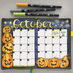 Memory keeping in my bullet journal Halloween pumpkins bullet journal spread! October monthly bujo layout in my Scribbles that Matter dot grid journal. The post Memory keeping in my bullet journal appeared first on Halloween Pumpkins. Bullet Journal Monthly Spread, Bullet Journal Writing, Bullet Journal 2019, Bullet Journal Ideas Pages, Bullet Journal Inspiration, Bujo Monthly Spread, Back To School Bullet Journal, Bullet Journal October Theme, Bullet Journals