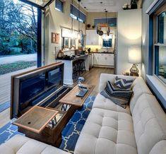 Living room design ideas for tiny house