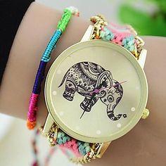 Bracelet+de+Montre+-+Quartz+Femme+–+EUR+€+5.69