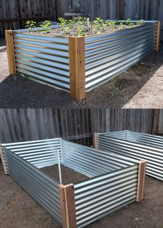 28 Best DIY raised bed gardens: easy tutorials, ideas & designs to build raised beds or vegetable & flower garden box planters with inexpensive materials! - A Piece of Rainbow backyard, landscaping, gardening tips, homesteading Garden Yard Ideas, Diy Garden Projects, Garden Boxes, Diy Garden Box, Outdoor Projects, Backyard Garden Ideas, Cheap Garden Ideas, Inexpensive Backyard Ideas, Backyard Garden Landscape