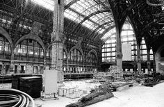 Construction de la gare d'Orsay