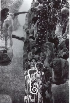 Gustav Klimt, 1901.1907, La Medicina, Distrutto nel 1945 nell'incendio del castello di Immendorf