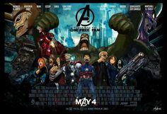 One piece Avengers Crossover - Donquixote Doflamingo, Marshall D. Teach, Straw hat pirates crew - Monkey D. luffy, Tony Tony Chopper, Roronoa Zoro, Sanji, Brook, Usopp, Nami, Franky, Nico Robin