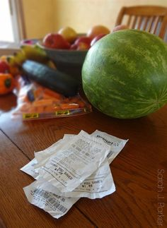 4 Tips for eating healthy on a budget!