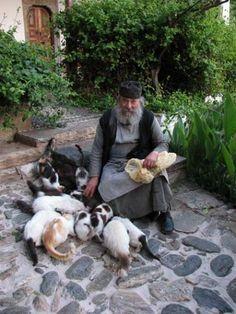Mount Athos monk