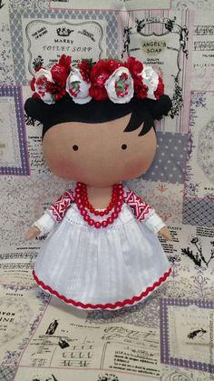 handmade Dolls Tilda.  Tilda boneca na Coleção traje ucraniano 2015-2016.  Tatiana (DemianoMaria).  Mestres justas.