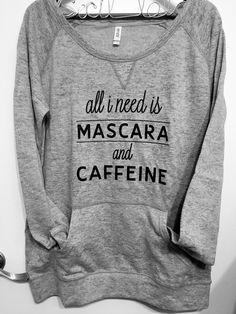 """Mascara"" Athletic Heather Burnout Fleece Sweatshirt · {cecil lola} · Online Store Powered by Storenvy"