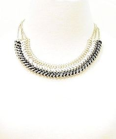 3 layered gold chain necklace – Pinkracks
